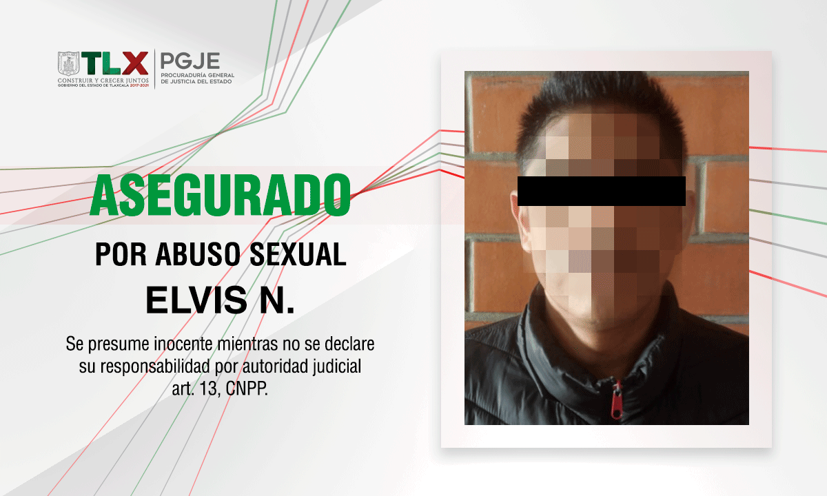 PGJE asegura a imputado por abuso sexual